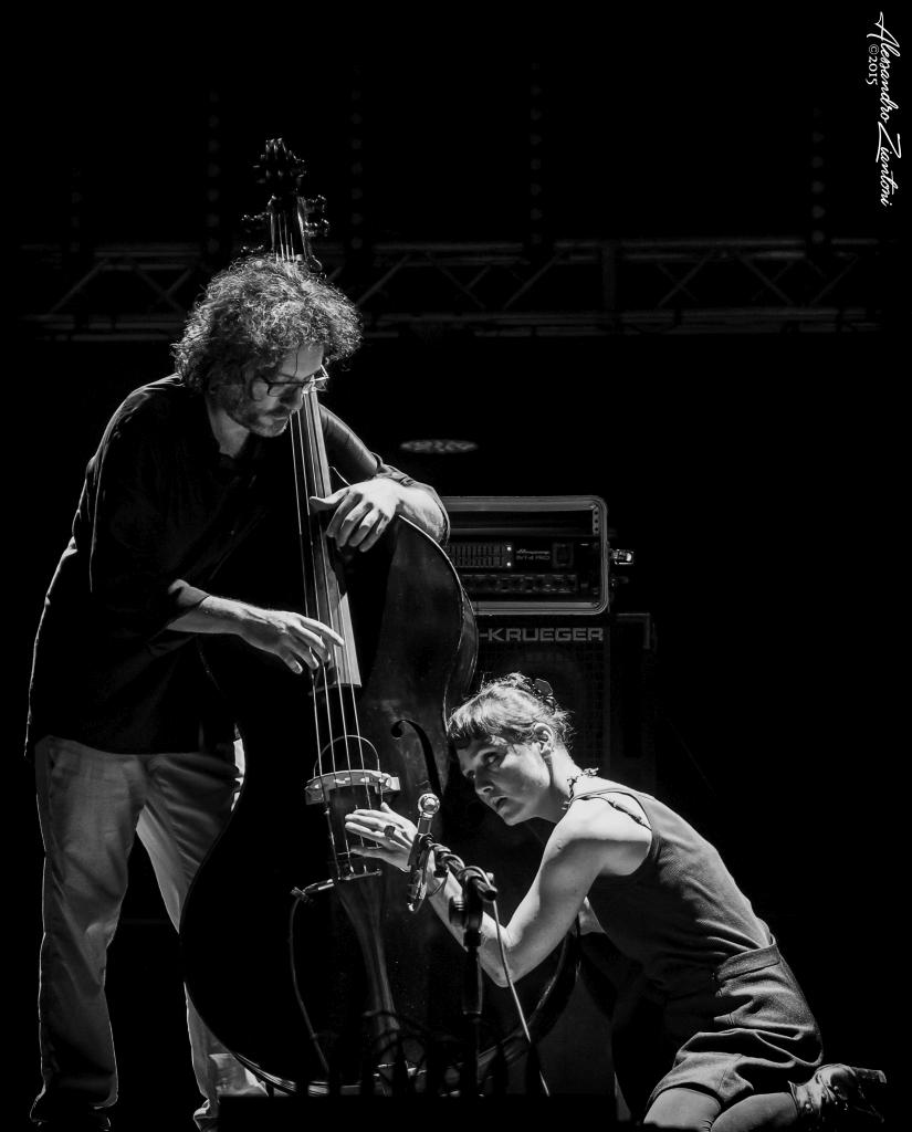MUSICA NUDA<br>Petra Magoni e Ferruccio Spinetti.<br>Eutropia 2015 - Città dell'Altra Economia<br>Roma, 8 Luglio 2015